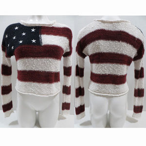 Forever 21 sweater Small American flag Patriotic